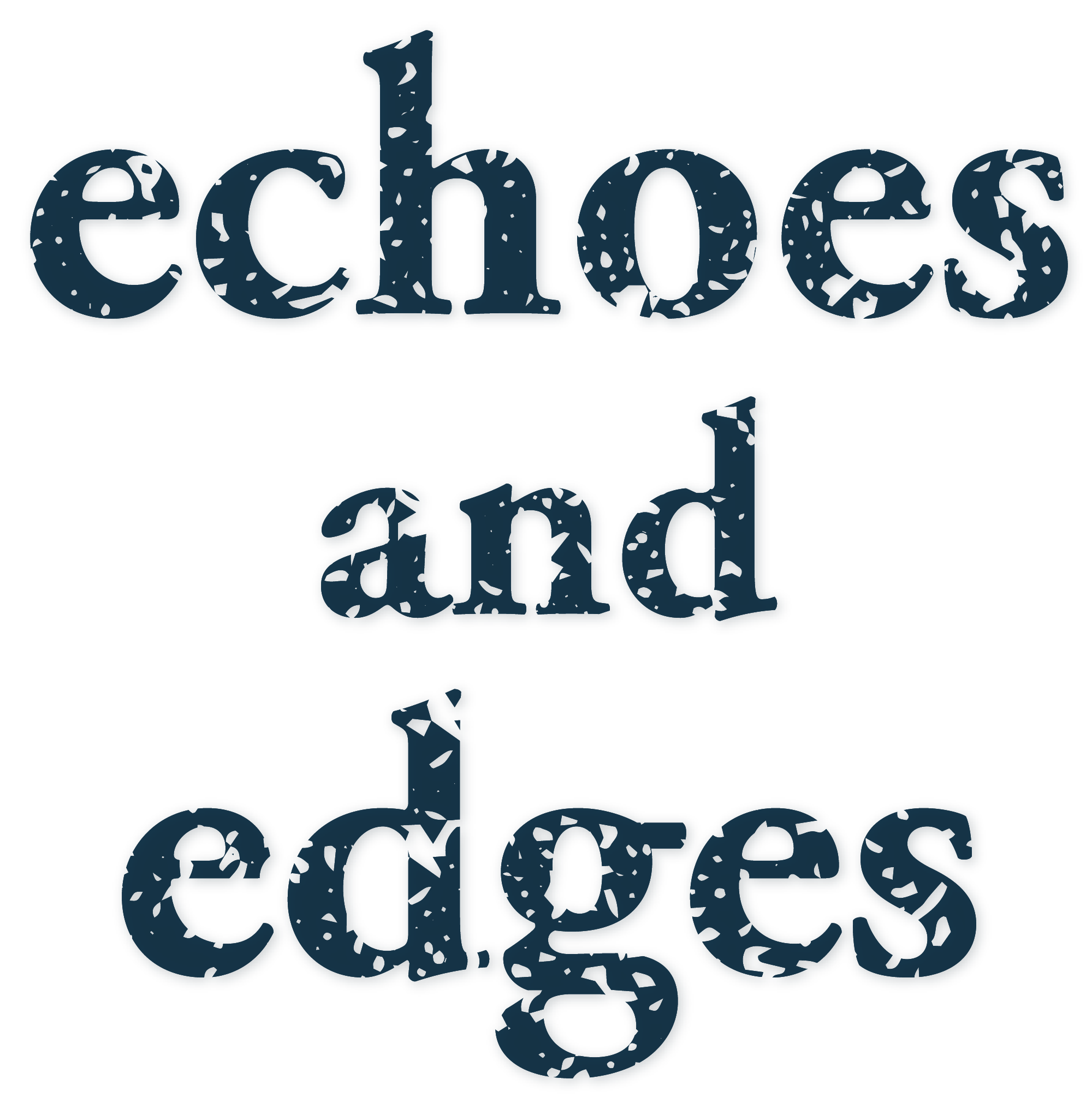Echoes and Edges   Logo square transparent png